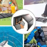 持ち運び可能な2種のソーラーパネルでアウトドアでも災害備蓄にも!