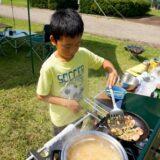 キャンプで親子クッキング!子どもと作る簡単でおいしいごはんメニュー