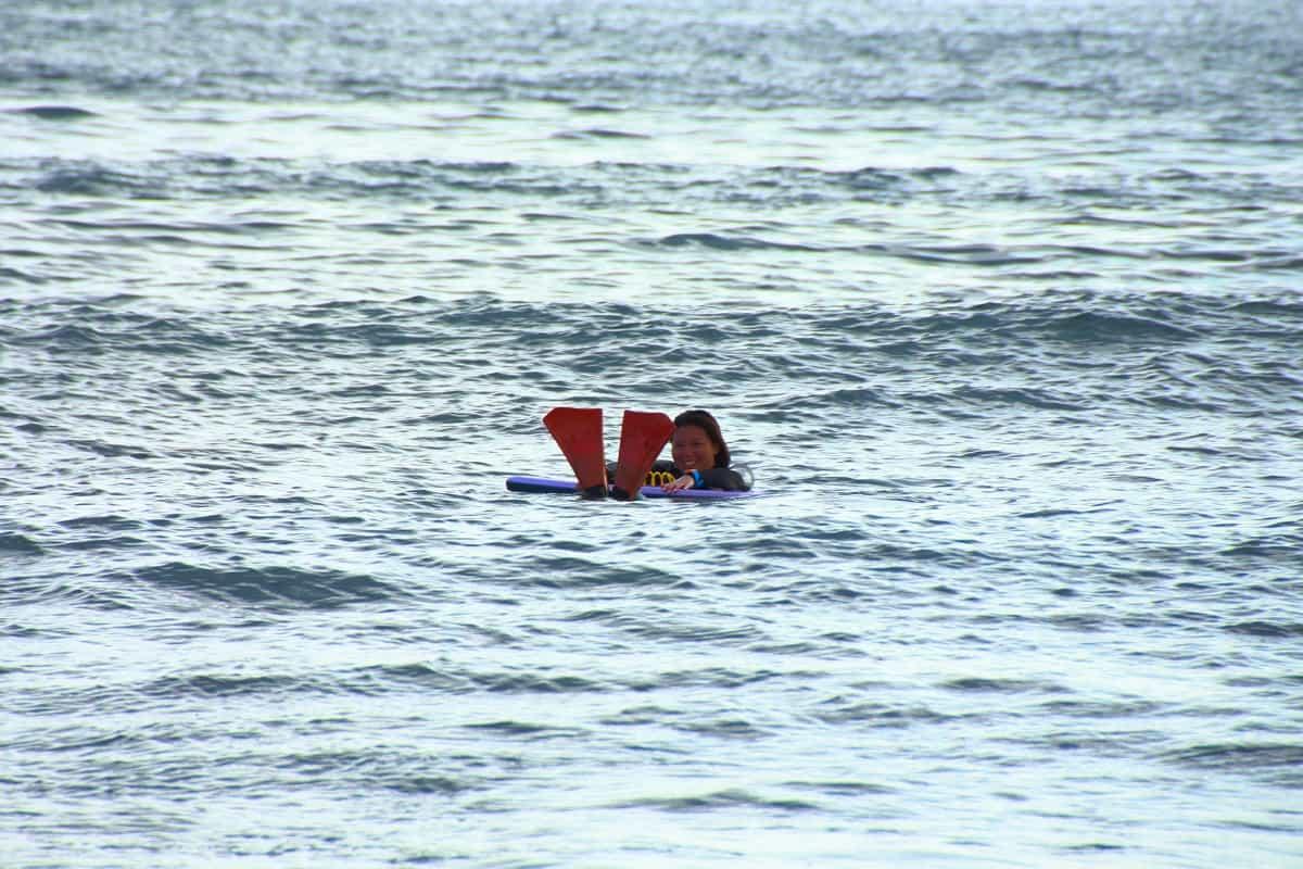 ボディボード フィン