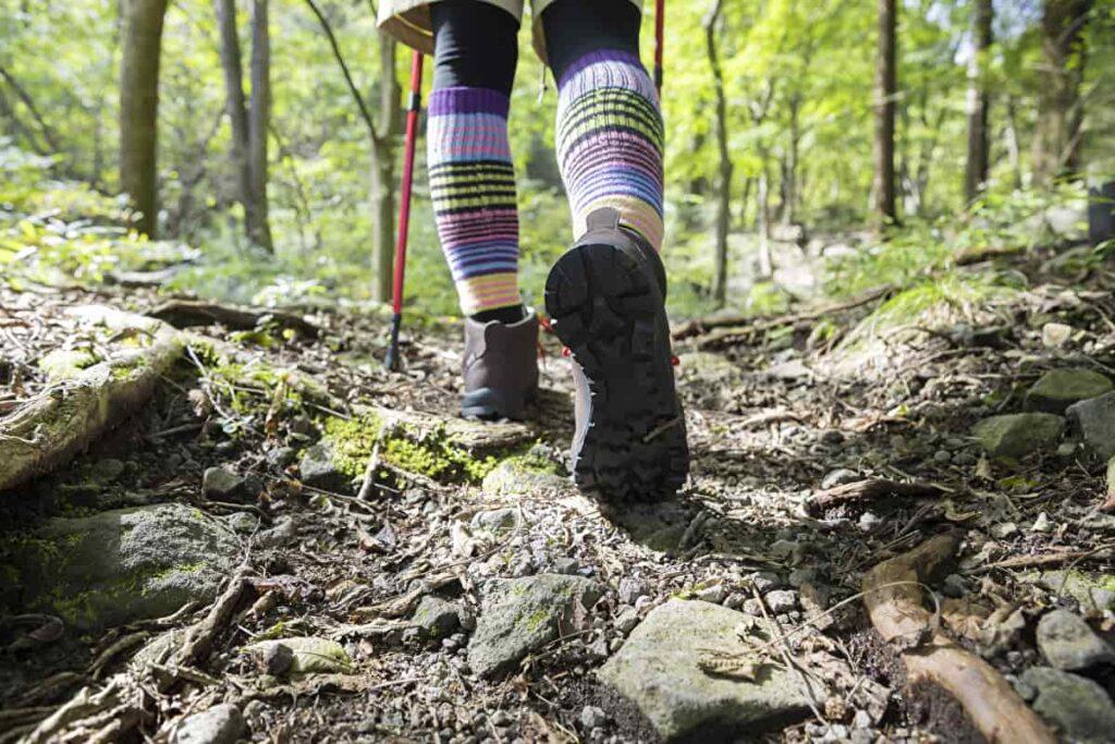 登山 夏 靴下