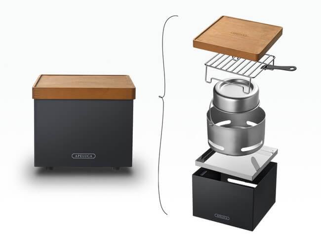 『TABLETOP GRILL』と『COMPACT DEEP PAN』