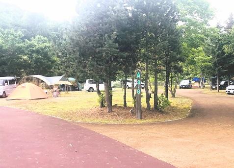 北海道 ナポートパークキャンプ場