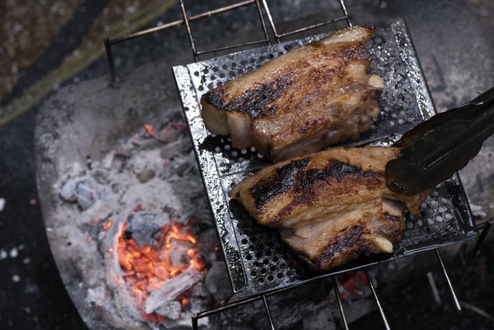 ベアーズ島田キャンプのゼロからはじめる焚き火料理