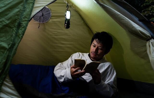 DIME12月号の付録「4WAYポータブルランタン」はキャンプ・登山にいろいろ使える!