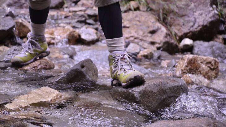 リバートレッキング 靴
