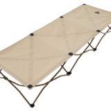 ロゴス独自のフレーム構造で広げるだけでセッティングできるベッド「Tradcanvas コンフォートベッド」発売